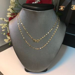 18K Real Gold Disco Chain